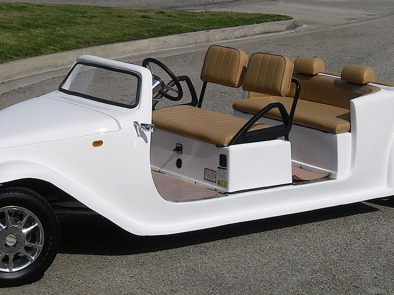 california roadster limo golf cart, roadster limo golf cart, limo golf car