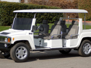cadillac escalade golf cart