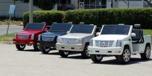 escalade golf cart, escalade golf car, cadillac escalade golf cart